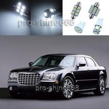 12PCS White LED Interior Light Package Kit for Chrysler 300 300C 2005-2010