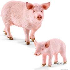 *NEW* SCHLEICH 13782 13783 Pig & Piglet - Set of 2 - Farm Life