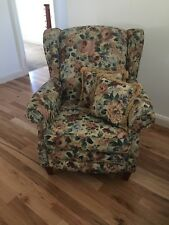 Traditional Floral Arm Chair
