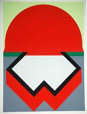 Takesada Matsutani  SUNRISE 1971 Original Signed Art Silkscreen