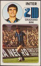 CALCIATORI PANINI 1976/77 108 INTER - GRAZIANO BINI NEW