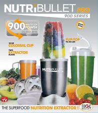 BRAND NEW NUTRIBULLET PRO 900W VEGETABLE JUICER MIXER EXTRACTOR BLENDER 18 PCS