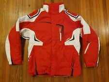 Wed'ze Decathlon Creation Red and White Hooded Ski Jacket Men's Size M