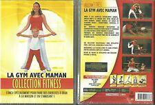 DVD - LA GYM AVEC MAMAN : FITNESS, BIEN ETRE, SOUPLESSE, MENTAL / NEUF EMBALLE
