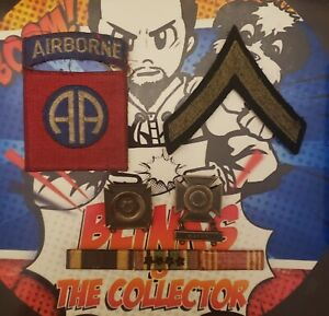Ww2 Us Army Patches And Medals