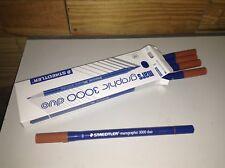 Staedtler Mars Graphic 3000 Brush Marker - Twin (5pcs/pack) 727