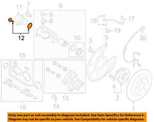 MAZDA OEM 16-17 CX-5 Rear-Disc Brake Caliper Seal Repair Kit KAY02644Z