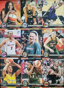 2008 WNBA RITTENHOUSE 90 CARD BASE SET STARS* BIRD * TAURASI * HAMMON * JACKSON+