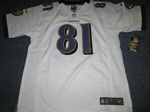 NWT NIKE NFL ON FIELD BALTIMORE RAVENS ANQUAN BOLDIN JERSEY SIZE YOUTH L 14/16