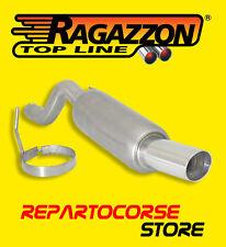 RAGAZZON TERMINALE SCARICO TONDO 90mm ALFA ROMEO MITO 1.3 JTDm 70kW 95CV 10->13