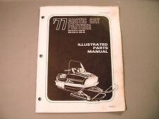 1977 Vintage Arctic Cat Panther Parts Manual