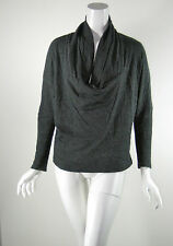 ROGAN Gray Cowl Neck Top Blouse Size X Small