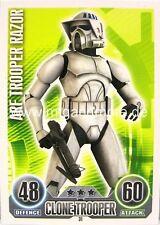 Star Wars Force Attax  Arf Trooper Razor #031