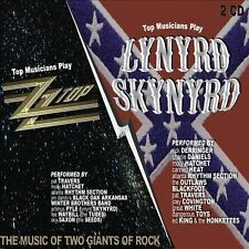 Top Musicians Play Lynyrd Skynyrd & ZZ Top by Various Artists (CD, 2010, 2 Discs