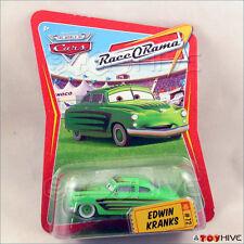 Disney Pixar Cars Edwin Kranks Green Race O Rama #72  - worn packaging