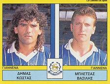 N°399 PLAYER PAS GIANNINA FC GREECE PANINI GREEK LEAGUE FOOT 95 STICKER 1995