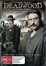 DEADWOOD - COMPLETE SECOND SEASON / 2 - BRAND NEW & SEALED, 4 DISC DVD