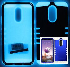 For LG Stylo 4 2018 - KoolKase Hybrid Silicone Cover Case - Blue (R)