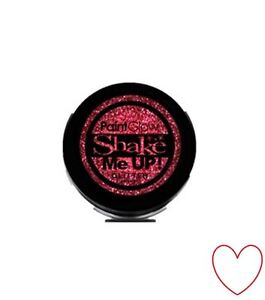 glitter shaker sparkle nail hair face body art festival party A7151Z19 red