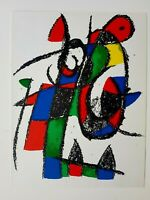 JOAN MIRÓ - ORIG. FARBLITHOGRAPHIE II - aus Lithograph II 1953 - 1963