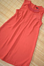 HALLHUBER wunderschönes Etui Kleid Gr. 36 UK 8 neu Chili