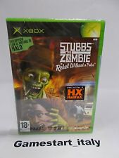 STUBBS THE ZOMBIE REBEL WITHOUT A PULSE (XBOX) NUOVO NEW SEALED GAME IN ENGLISH