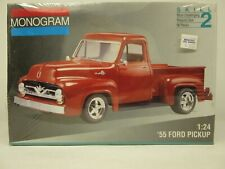 Monogram #2971, '55 Ford Pickup, Step Side, 1:24 Scale