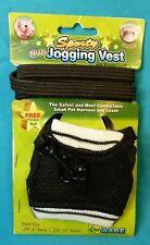 Ware Sporty Jogging Vest Small Pet Harness & Leash New