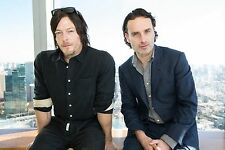 Norman Reedus and Andrew Lincoln 24 X 36 Poster