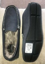 BNWT NEXT BLUE MOCCASIN SLIPPERS SIZE 10 (EUR 44) RRP £26 MEN'S