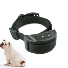 Black Anti Bark Shock Dog Pets Trainer Stop Barking Pet Training Control Collar