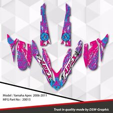 *NEW* SLED GRAPHIC KIT GRAPHICS WRAP FOR YAMAHA APEX 2006-2011 20013