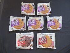 (7) Lenny & Larry's The Complete Cookie Oatmeal Raisin, Etc  4 Oz Each #N