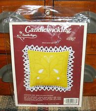 Needle Magic Candlewicking Butterfly Small Sachet Pin Cushion Doll Pillow Kit
