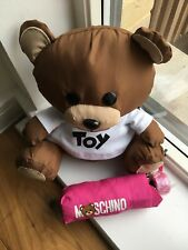 MOSCHINO Umbrella with Teddy Toy Brand New