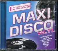 MAXI DISCO VOL.11 - CD COMPILATION ITALO DISCO