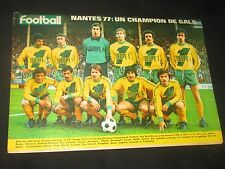 FRANCE FOOTBALL N° 1627 1977 COUPE FC NANTES ASSE OGC NICE REIMS TRESOR OM GEELS