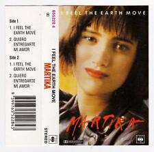 MARTIKA - I FEEL THE EARTH MOVE.   *RARE CASSETTE TAPE* CASSINGLE