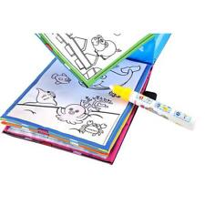 Newest Magic Water Drawing Book Coloring Book Doodle Magic Pen Animals Painting