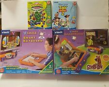 NEW Vtech VSMILE Learning System Smartbook and Keyboard w/3 Games