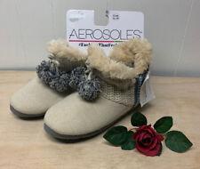 Aerosoles Slip On Slippers Ivory, Gray, Blue NWT X-Large 9.5- 10.5 Shoe Size