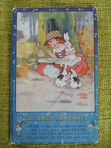 1933 Tucks Once Upon A Time Series II, Agnes Richardson, All About The Fairies