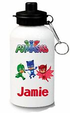 PJ MASK Personalised Kids/Drinks/Sports Waterbottle, School, swimming, Brand new