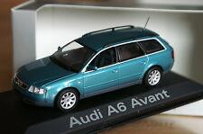 1:43 Audi A6 Avant C5 green turmalin grün MINICHAMPS 8 2.0.5.3.4.s6 tdi quattro