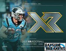 New England Patriots 2020 Panini XR Football Third Case (5 Box) Break #1