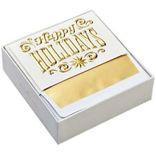 Greeting Cards Signature Holiday Boxed Cards, Happy Holidays (12 With Envelopes)
