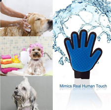 Pet Grooming Glove Deshedding Brush Cleaning Supplies For Cats Dogs
