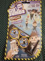 Go Sumos Smile Inc Remote Control Stickers Lot Of 4