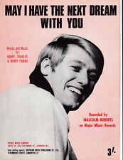 May I Have The Next Dream With You - Malcolm Roberts - 1968 sheet music