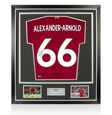 Trent Alexander-Arnold Back Signed Liverpool 2019-20 Home Shirt With Fan Style N